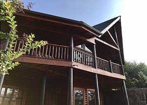 STAIRWAY TO HEAVEN #556 Smoky Mountain 5 Bedroom cabin with KNOCKOUT MOUNTAIN VIEWS!