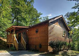 HIDDEN DREAMS #196 Private 1 bedroom Cabin 4 miles from parkway Pigeon Forge TN, Wears Valley