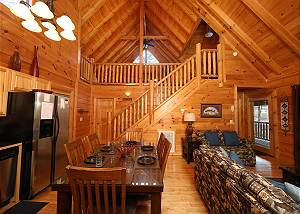 APPALACHIAN DREAM #277 2 Bedroom Pigeon Forge Resort Cabin with Pool Access, Hot Tub and Jacuzzi Tub