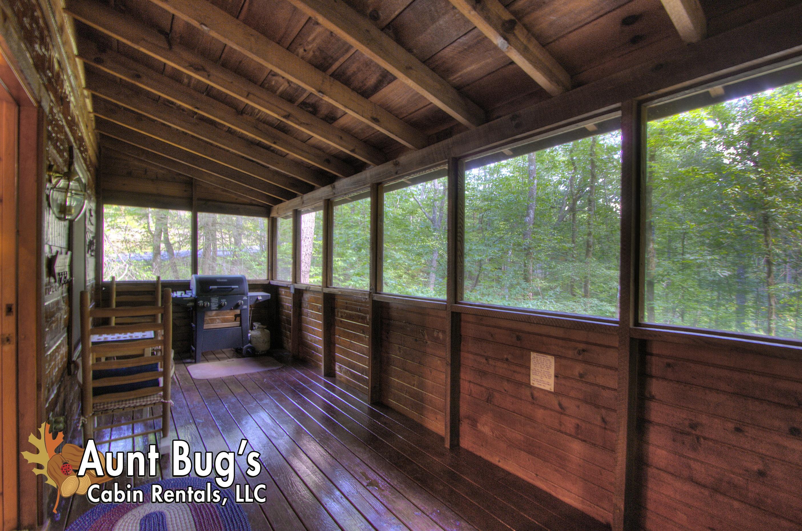 Sevierville Cabin Rental AMERICANA 1 Bedroom