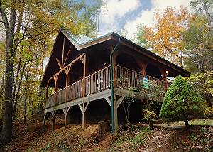 Beneath The Stars #220 Enjoy Everything Nature has to offer in this Private 2 bedroom Log Home