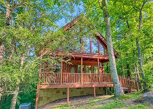 Beary Secluded #296 Secluded Smoky Mountain Cabin Rental with Pool Table, Foosball and Hot Tub