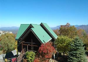 Eagle's Nest #379 3 Bedroom Smoky Mountain View on Ski Mountain Cabin Rental with Hot Tub