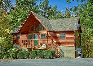 Sweet Mountain Laurel #403 Smoky Mountain 4 Bedroom Cabin with Jacuzzi Tub, Hot Tub and Pool Access