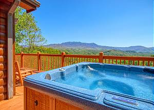 AWESOME VIEWS #701 BEST VIEW IN GATLINBURG! This luxury cabin has it all! NEW ARCADE GAME 2019
