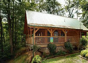 BENEATH THE STARS 220 Semi-Private 2 bedroom pet friendly cabin,6 miles to downtown Pigeon Forge TN
