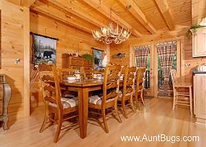 BEARFOOT LODGE #420 Gatlinburg luxury cabin  BEARFOOT LODGE #420
