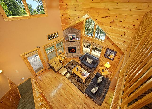 Rustic Elegance 422 2 Bedroom Cabins Pigeon Forge