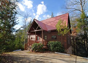 SEVIERVILLE Cabin / Bungalow rental - Exterior Photo - Bearly Mine #112- Outside View of the Cabin