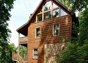 BEAR NAKED LODGE #216 2bedroom cabin Sky Harbor Gatlinburg/Pigeon Forge TN, game room, hot tub