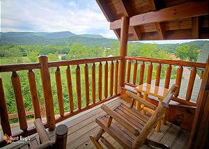 STARRY NIGHTS #222 2 Bedroom Luxury Cabin Amazing Mountain View, Wears Valley Pigeon Forge TN