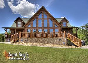 ALWAYS DREAMING #410 The Ultimate Premier cabin with 4 King size Master Suites & Flat Sceen TV's!