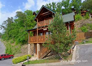 POOLSIDE RETREAT #221 2 Bedroom Luxury Cabin Amazing Mountain View, Wears Valley Pigeon Forge TN