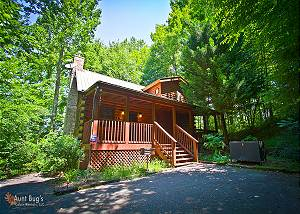 BEAR'S LAIR #1815 Bear's Lair 2 Bedroom 2bath Pet Friendly Log Cabin Pigeon Forge/Gatlinburg TN