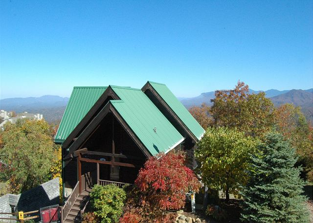 Eagle 39 s nest 379 3 bedrooms in gatlinburg cabin rental Best mountain view cabins in gatlinburg tn
