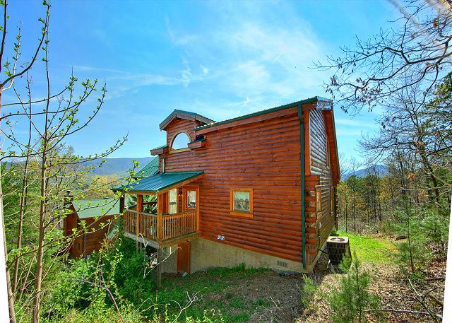 Heavenly Hideaway 256 2 Bedroom Cabins Pigeon Forge