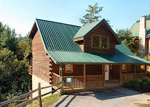 A MOUNTAIN PALACE #561 Beautiful 5 Bedroom Log Cabin Rental Close to the Pigeon Forge Parkway
