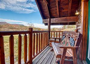 Farmers Retreat #221 2 Bedroom Luxury Cabin Amazing Mountain View, Wears Valley Pigeon Forge TN