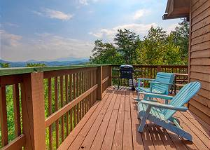A Grand View From Above #225 Incredible View Mountain Cabin near the Heart of the Pigeon Forge Parkway!