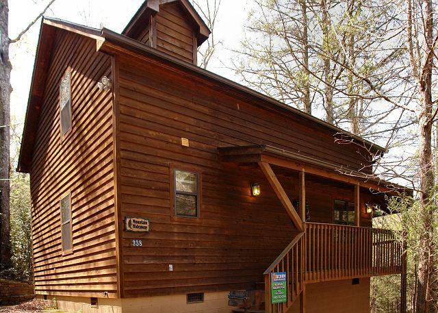 Gatlinburg Cabin Rental Mountain Hideaway 338 2 Bedroom