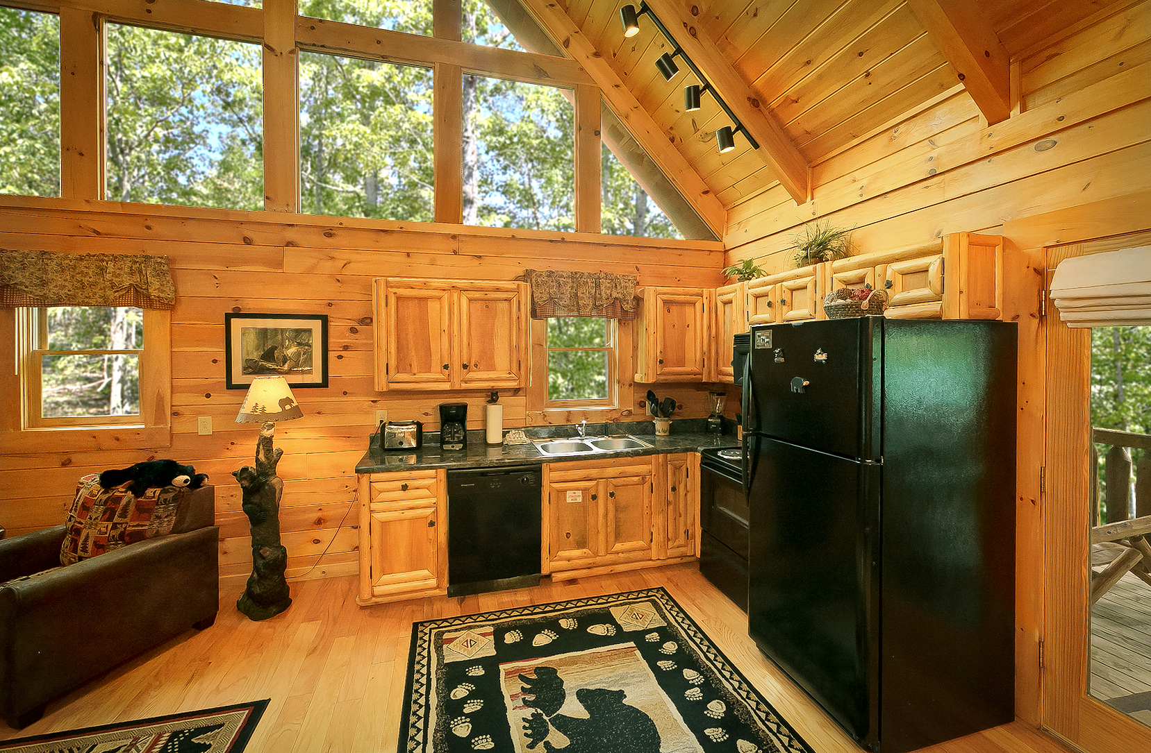 Sevierville Cabin Rental The Treehouse 1708 1 Bedroom