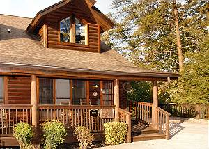Lucky Logs #283 Lucky Logs 283 luxury log townhouse in Pigeon Forge close to Dollywood