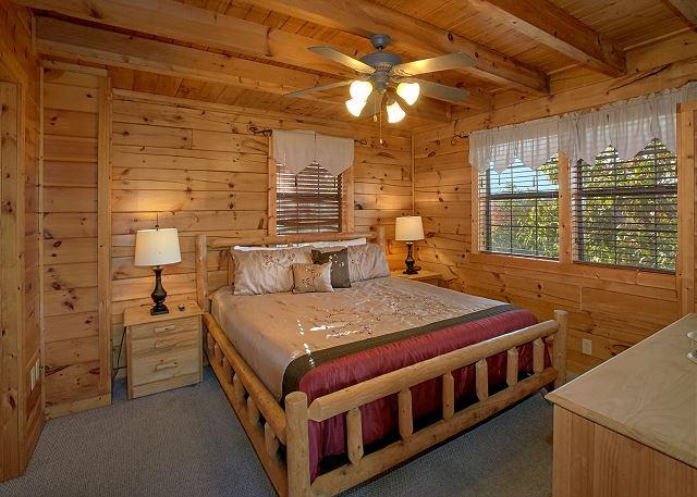 Evening View 133 1 Bed 2 Bath Cabin Acorn Cabin Rentals
