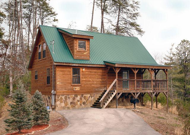 Eagles Loft 257 2 Bedroom Cabins Pigeon Forge Cabins Gatlinburg Cabins