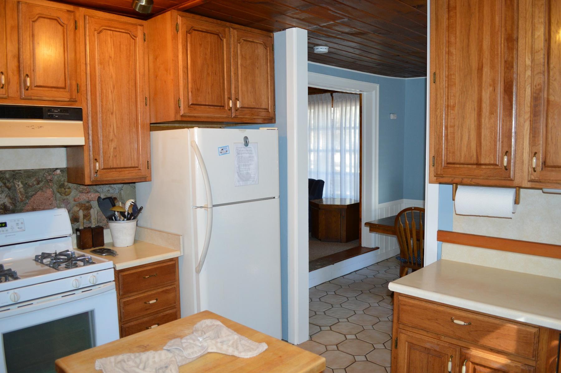 Tahoe, Birch Cabin Kitchen