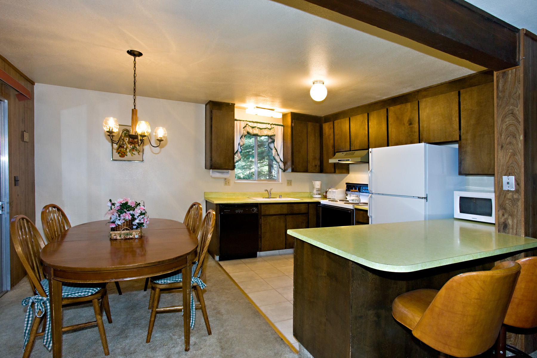 Tahoe, Pioneer Trail home, kitchen