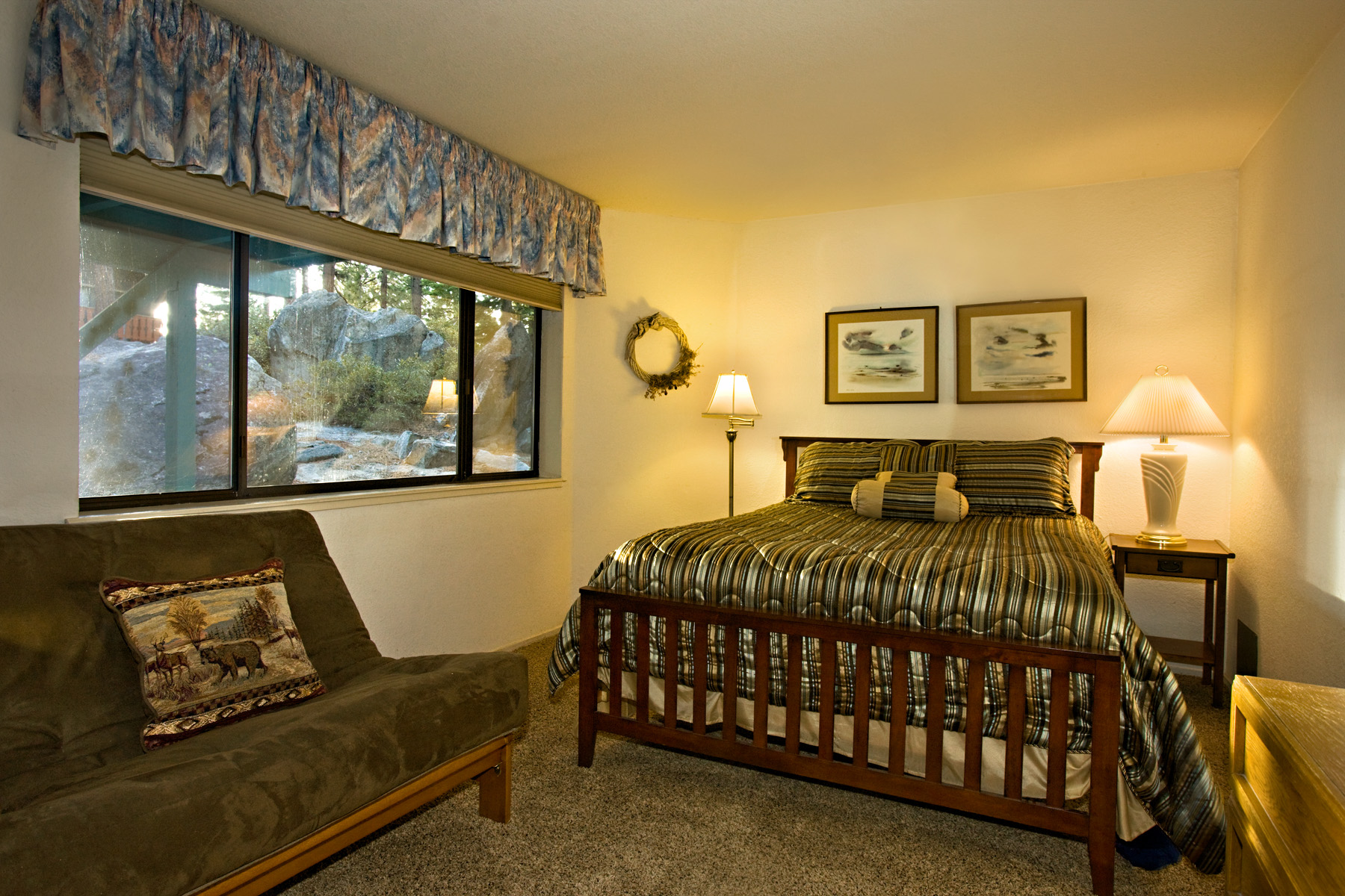Tahoe Tyrol 3407 2nd bedroom with futon