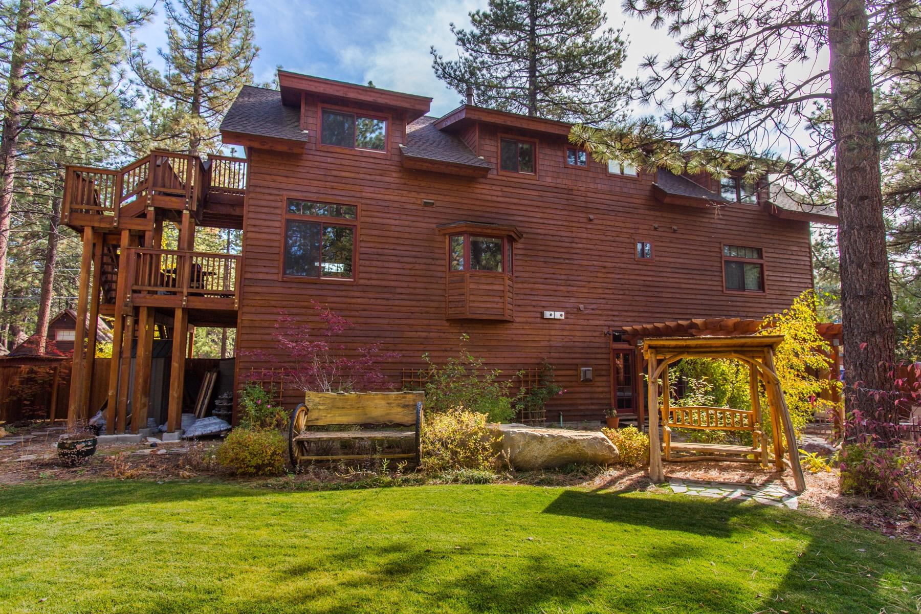 Tahoe, Fresno Back Garden
