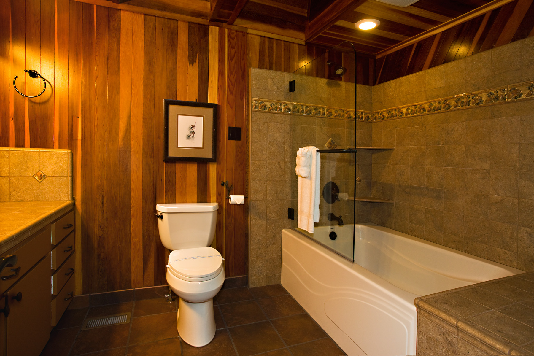 Bathroom on upstairs level