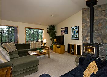 South Lake Tahoe House rental - Interior Photo - Tahoe, Marshall Trail 4, living room
