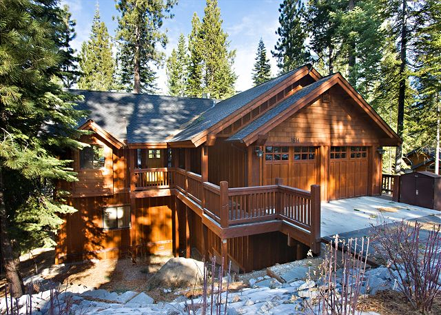 Plumas circle executive home image gallery lake tahoe for Lake tahoe winter cabin