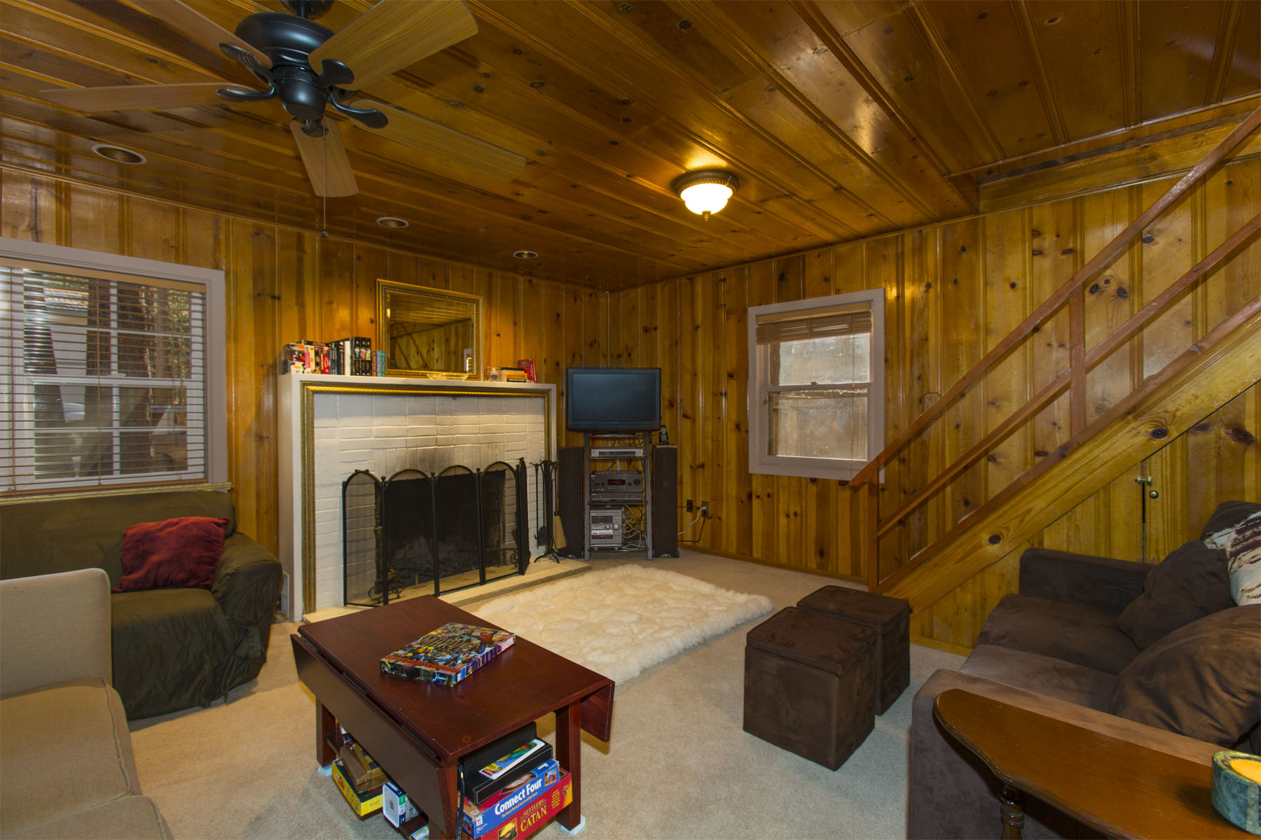 Tahoe, Larch Cabin Living Room