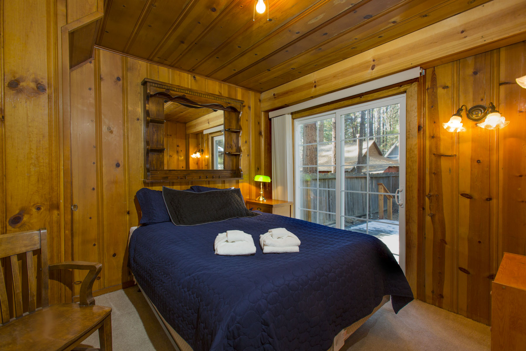 Tahoe, Larch Cabin Master Bedroom