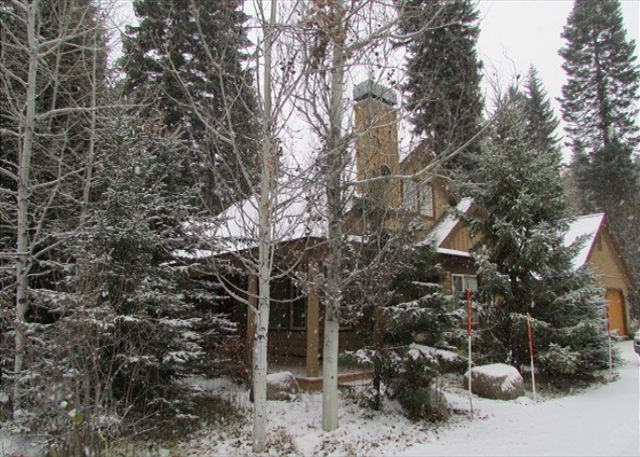 Home tucked amongst the trees in Spring Mountain Ranch, ID#217681