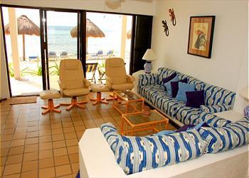 Akumal Condominium rental - Interior Photo - Sitting Area