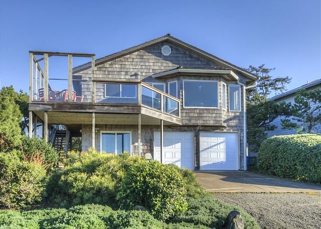 Beautiful two story. Upstairs front entrance. Windows face ocean for an amazing view.
