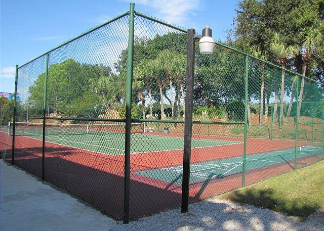 Tennis and Shuffle Board