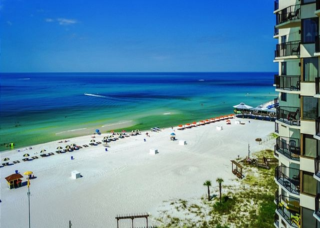 BEACH FRONT FOR 4! 9TH FLOOR WITH GREAT VIEWS!  OPEN 3/8-15! ONLY $695 TOTAL! - Panama City Beach, Florida