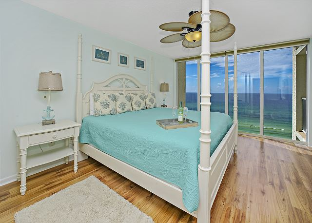 Master Bedroom With Gulf Views!