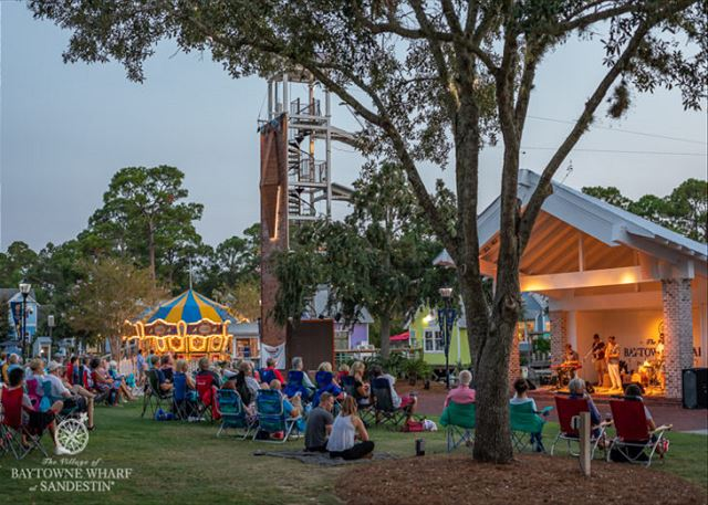 ENJOY A LIVE CONCERT EVERY WEDNESDAY IN SEASON.