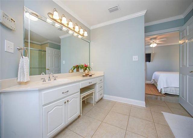 Ground floor master suite bathroom.