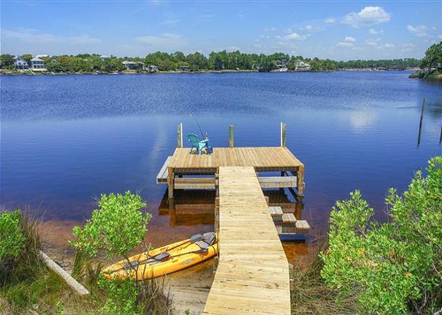 Private dock.