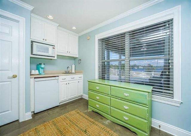 Kitchenette in ground floor master suite.