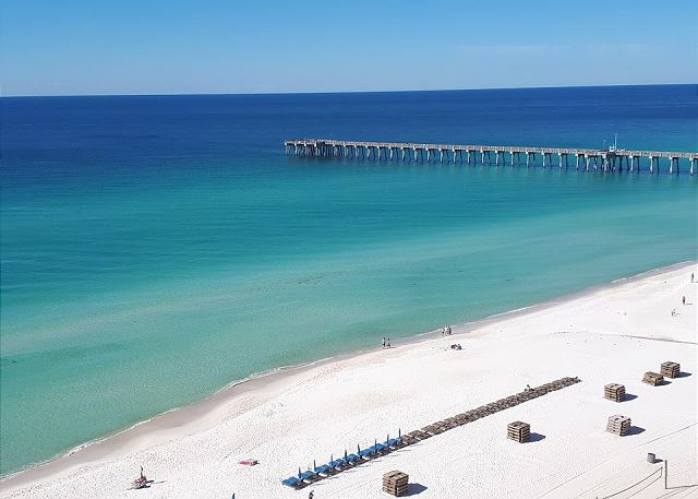 View of Pier from Balcony