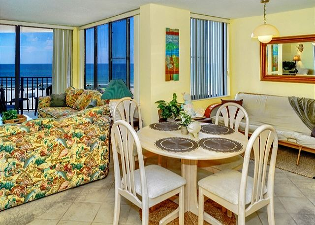 3RD FLOOR! BEACHFRONT FOR 4! GREAT VIEWS! OPEN 3/22-29! ONLY $895 TOTAL! - Panama City Beach, Florida