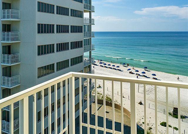 PENTHOUSE FOR 10! INCREDIBLE VIEWS! HUGE BALCONY! OPEN WEEK OF 3/15 - Panama City Beach, Florida
